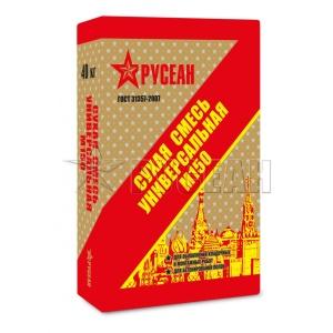 Смесь сухая универсальная М150 Русеан (Rusean) 40кг