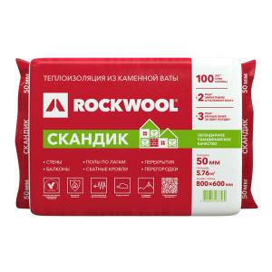 ROCKWOOL «Скандик» 100 мм