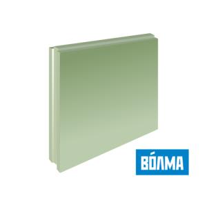 Пазогребневая плита (ПГП) ВОЛМА (полнотелые) влагостойкие 667*500*80 мм