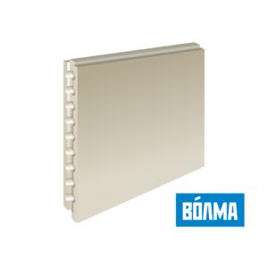 Пазогребневая плита (ПГП) ВОЛМА (пустотелая) 667*500*80 мм