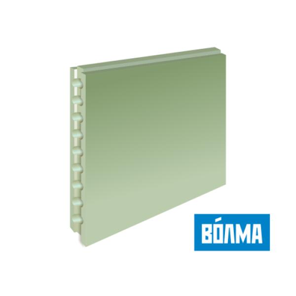 Пазогребневая плита (ПГП) ВОЛМА (пустотелые) влагостойкие 667*500*80 мм
