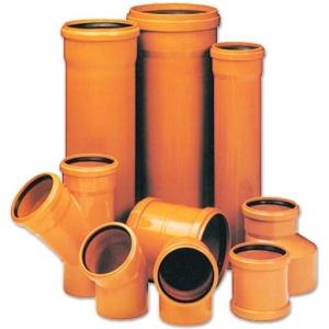 Трубы, фитинги для наружной канализации