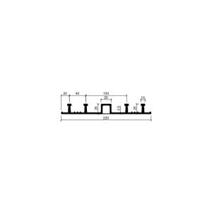 Гидрошпонка ДО-220/25-4/25 (резина)