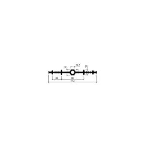 Гидрошпонка ДВ-170/12,5 (резина)