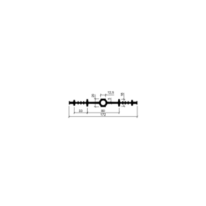 Гидрошпонка ДВ-170/12 (ПВХ-П)