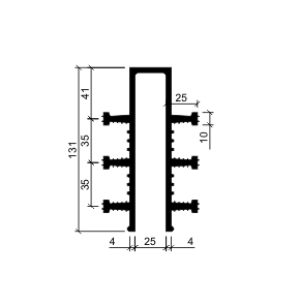 Гидрошпонка ДЗ-130/25-6/25 (резина)