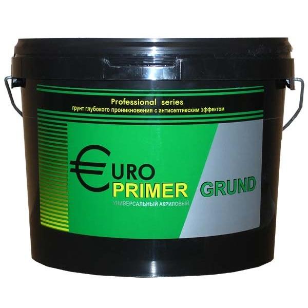 """Грунт """"EuroPrimer"""" для наружных и внутренних работ 10кг"""