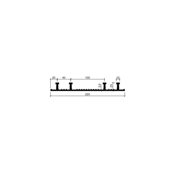 Гидрошпонка ХО-220-4/25 (резина)