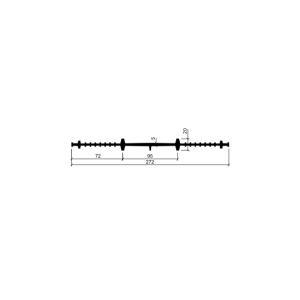 Гидрошпонка ХВ-270 (резина)