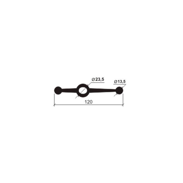 Гидрошпонка СВГ-120 (резина)