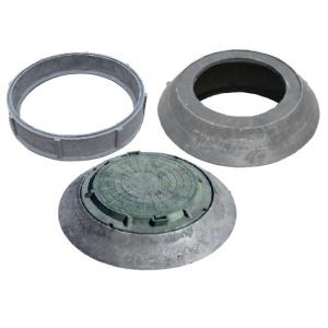 Полимерпесчаные кольца, конус переходники