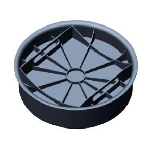 Крышка для колодца Ø 425 мм (нижняя с резинкой) Aquastreet