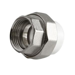 Муфта PPR комбинированная разъемная c внутренней резьбой  Ø25 - 3/4 мм