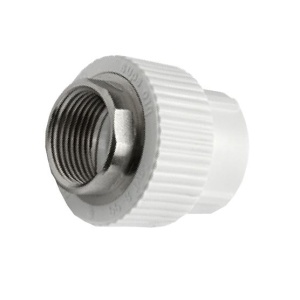 Муфта PPR комбинированная c внутренней резьбой под ключ Ø50 - 1 1/2 мм