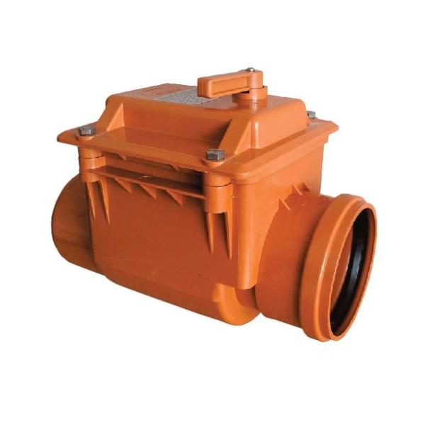 Обратный клапан 110 мм ПВХ