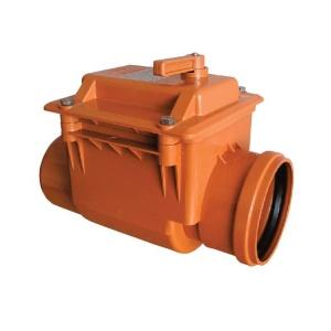 Обратный клапан 200 мм ПВХ
