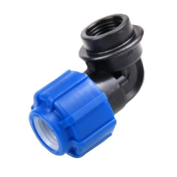 Отвод с переходом на внутреннюю резьбу 25 х 3/4 мм ТПК-АКВА