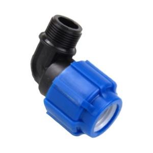 Отвод с переходом на наружнюю резьбу 20 х 1/2 мм ТПК-АКВА