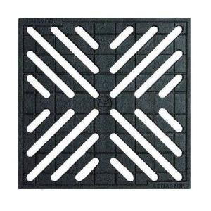 Чугунная решетка для колодца 300х300 мм