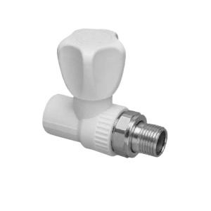 Шаровой кран для радиатора прямой Ø20 1/2 мм