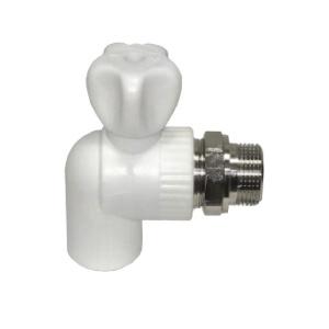 Шаровой кран для радиатора угловой Ø25 3/4 мм