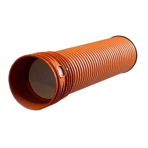 Труба гофрированная с раструбом Ø400 мм Pestan