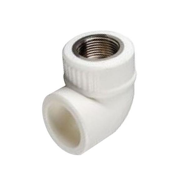 Угольник PPR комбинированный c внутренней резьбой Ø  20 - 1/2 мм