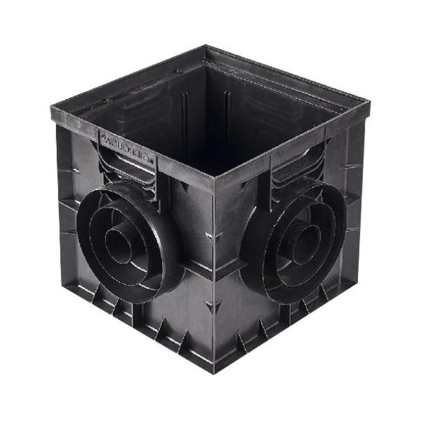 Водосборный колодец пластиковый без крышки 300х300 мм