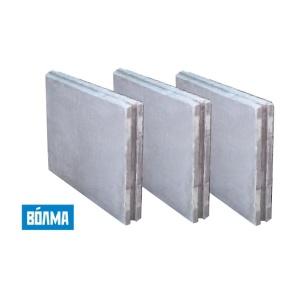 Пазогребневая плита гипсовая полнотелая 667х500х100 мм ВОЛМА