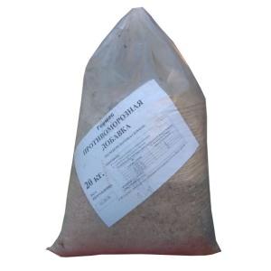 Противоморозная добавка (на основе поташа- солевая) Гермес 20кг
