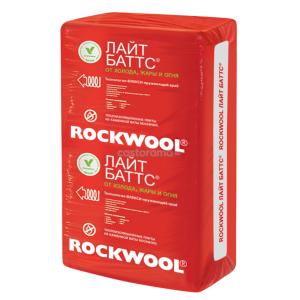 Роквул Лайт Баттс Каменная вата 1000х600х100 мм 3 м2, 0.3 м3, 5 плит