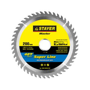 Диск пильный 185х20мм., 60Т STAYER MASTER SUPER LINE
