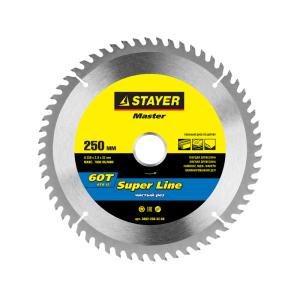 Диск пильный 190х16мм., 48Т STAYER MASTER SUPER LINE