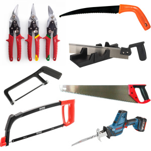Ножовки, ножницы