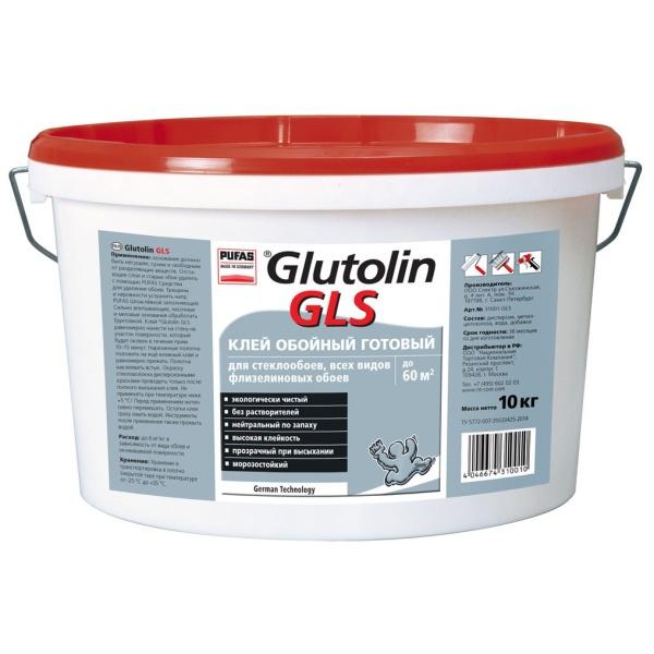 Готовый клей Glutolin GLS 10 кг морозостойкий