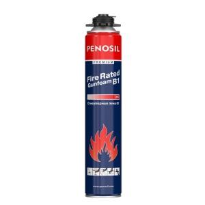 Огнеупорная профессиональная монтажная пена PENOSIL Premium Fire Rated Gunfoam B1