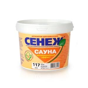 Антисептик для бань и саун Сенеж Сауна 2,5 кг