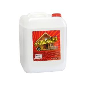 Огнебиозащита универсальная для древесины (бесцветн) 10 л