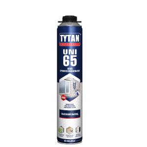 Пена монтажная Титан (TYTAN B3) 750 мл, Профи 65л
