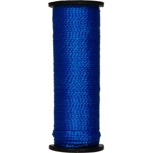 Нить капроновая на катушке 50 м. синяя усиленная 0,44 ктекс; 45 кгс