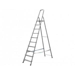Лестница-стремянка алюминиевая 10 ступеней 208 см СИБИН