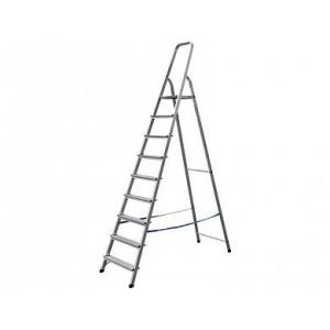 Лестница-стремянка алюминиевая 9 ступеней 187 см СИБИН