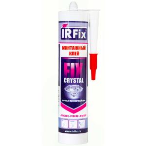 Клей монтажный прозрачный 310 мл IRFIX CRYSTAL FIX