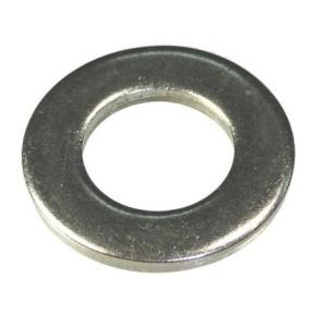 Шайба плоская М10 (оцинкованная) DIN 125 (1кг/332шт)