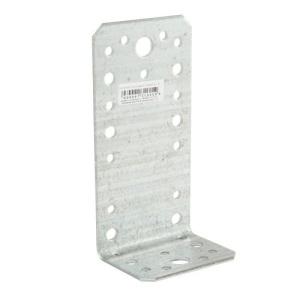 Уголок соединительный асимметричный 130х50х65х2 мм, оцинкованный (1шт)
