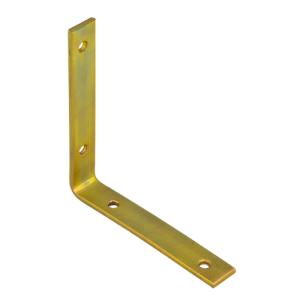 Уголок узкий 125х125х20х4 мм (жёлтый цинк) (1шт)