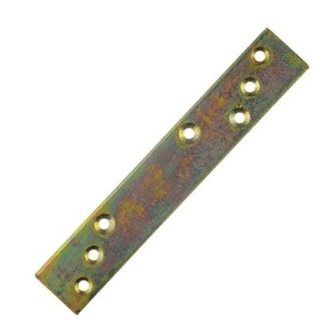 Пластина усиленная крепежная 300х40х5 мм (желтый цинк) LG (1шт)