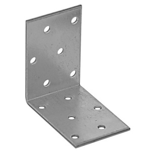 Уголок симетричный 40х40х100х2 мм, оцинкованный (1шт)