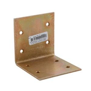 Уголок широкий 60х60х60х2 мм (жёлтый цинк) (1шт)