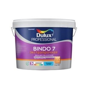 Краска Dulux BINDO 7 BW матовая белая 9л